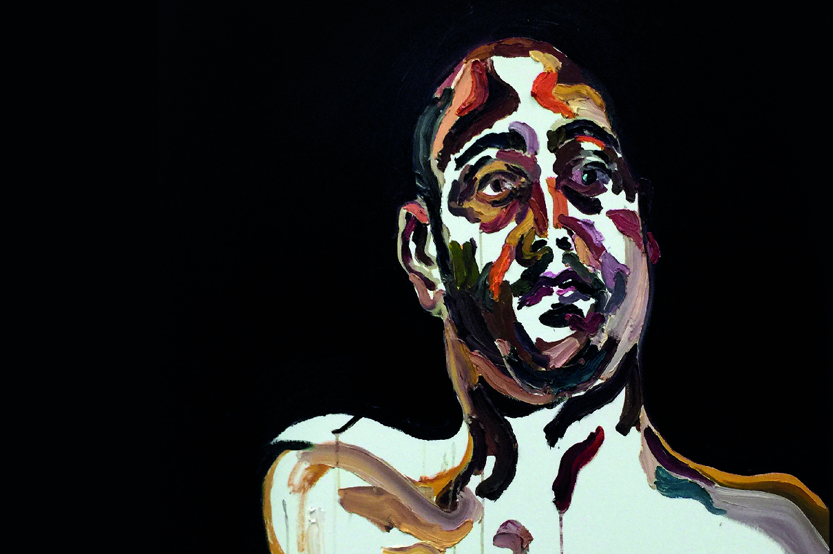 Myuran Sukumaran self portrait, Time is ticking, 25 April 2015, oil on canvas, 100cm x 80cm